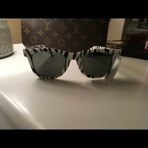 Authentic sunglasses Yves Saint Laurent zebra